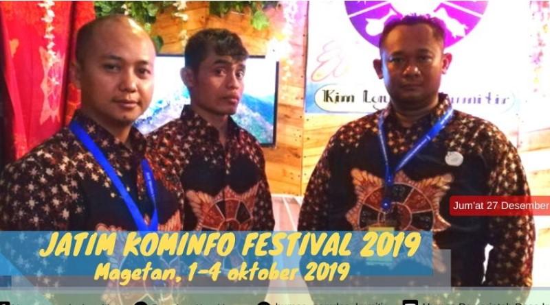 Batik Tulis Majapahit Ikut Meriahkan Jatim Kominfo Festival 2019