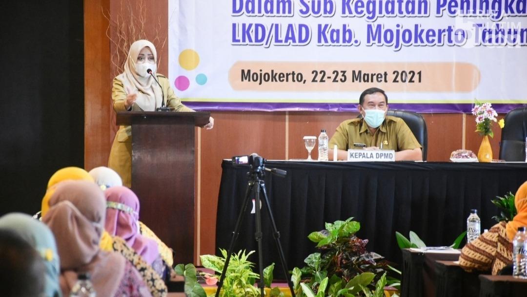 Bupati Mojokerto Minta agar Desa Lakukan Percepatan Pembangunan Secara Mandiri